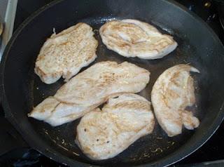 pechugas de pollo salteadas