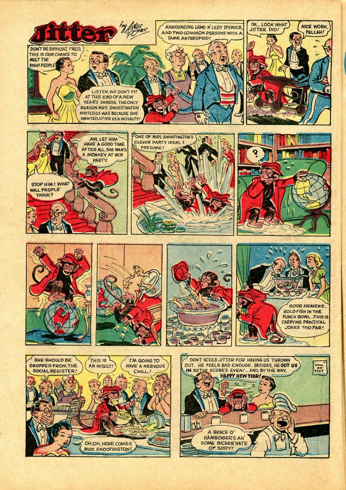 Read online Famous Funnies comic -  Issue #102 - 24