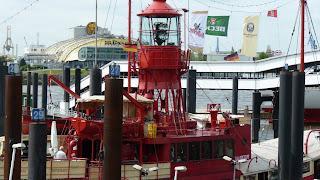 Feuerschiff, Hamburg, Hafen, rotes Schiff