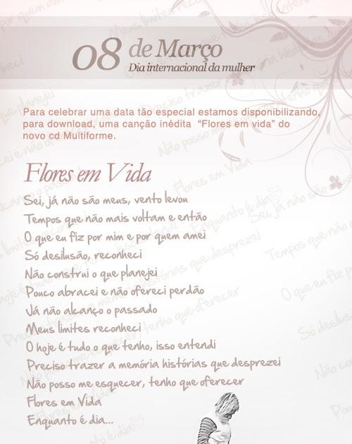 Renovo Blog Flores Em Vida Paulo Cesar Baruk