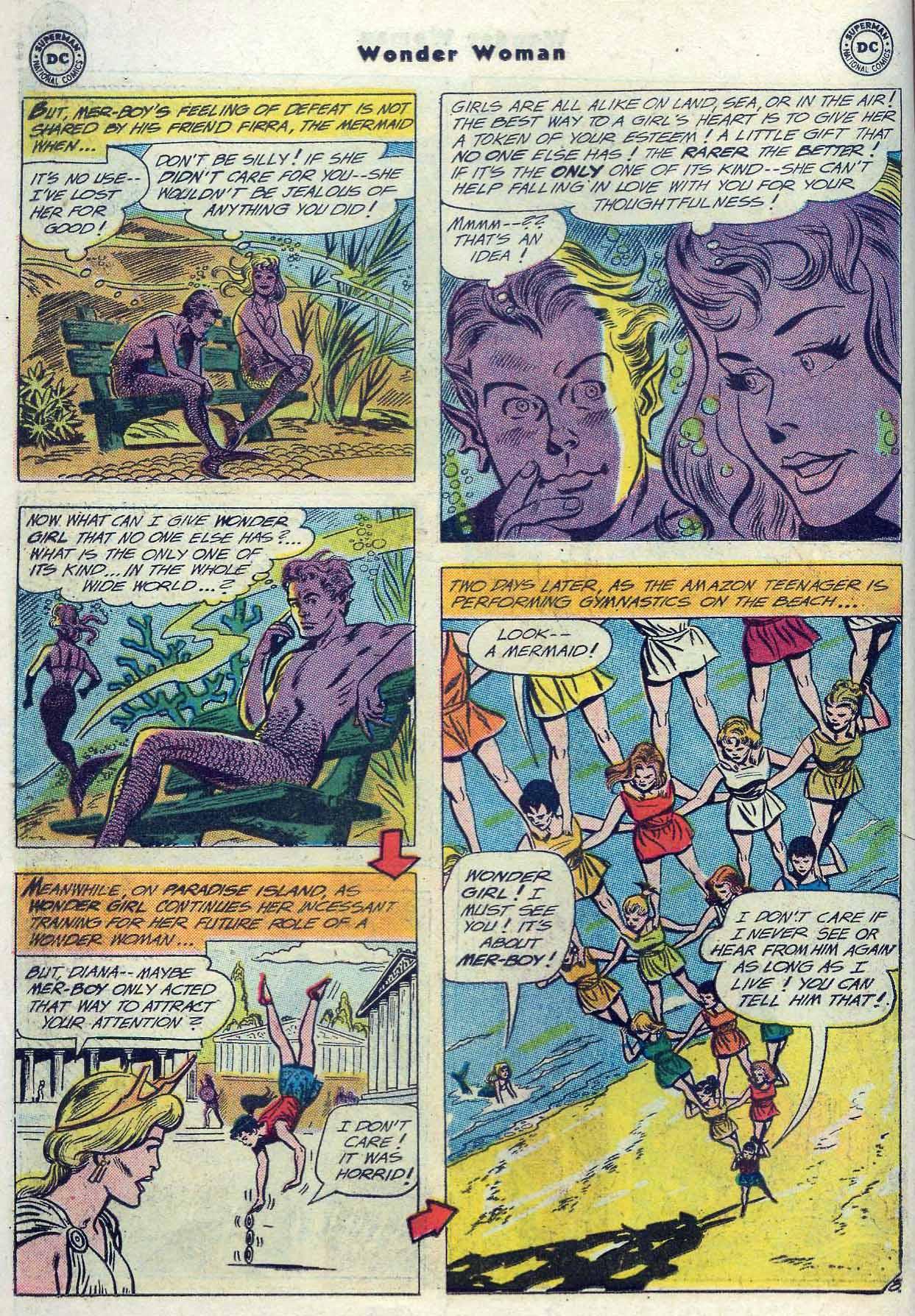Read online Wonder Woman (1942) comic -  Issue #116 - 10