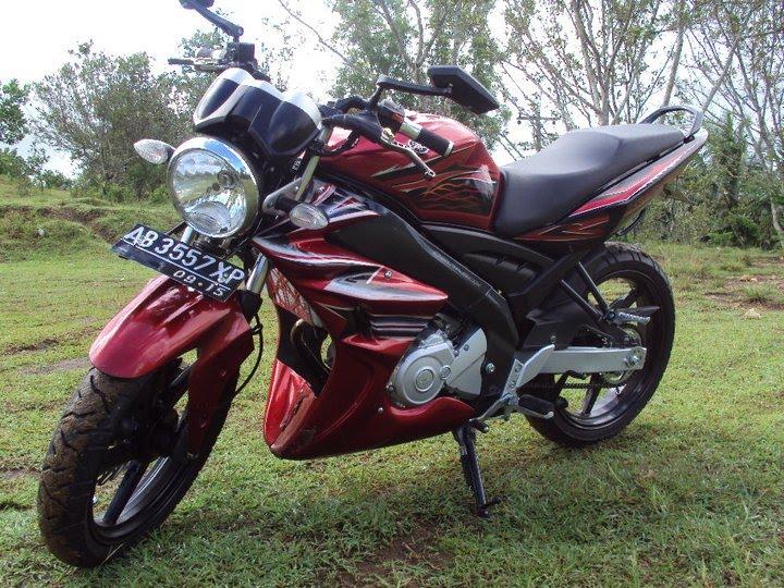 Avenged Car: Motorcycle Modif Yamaha Vixion 2010 Jogja