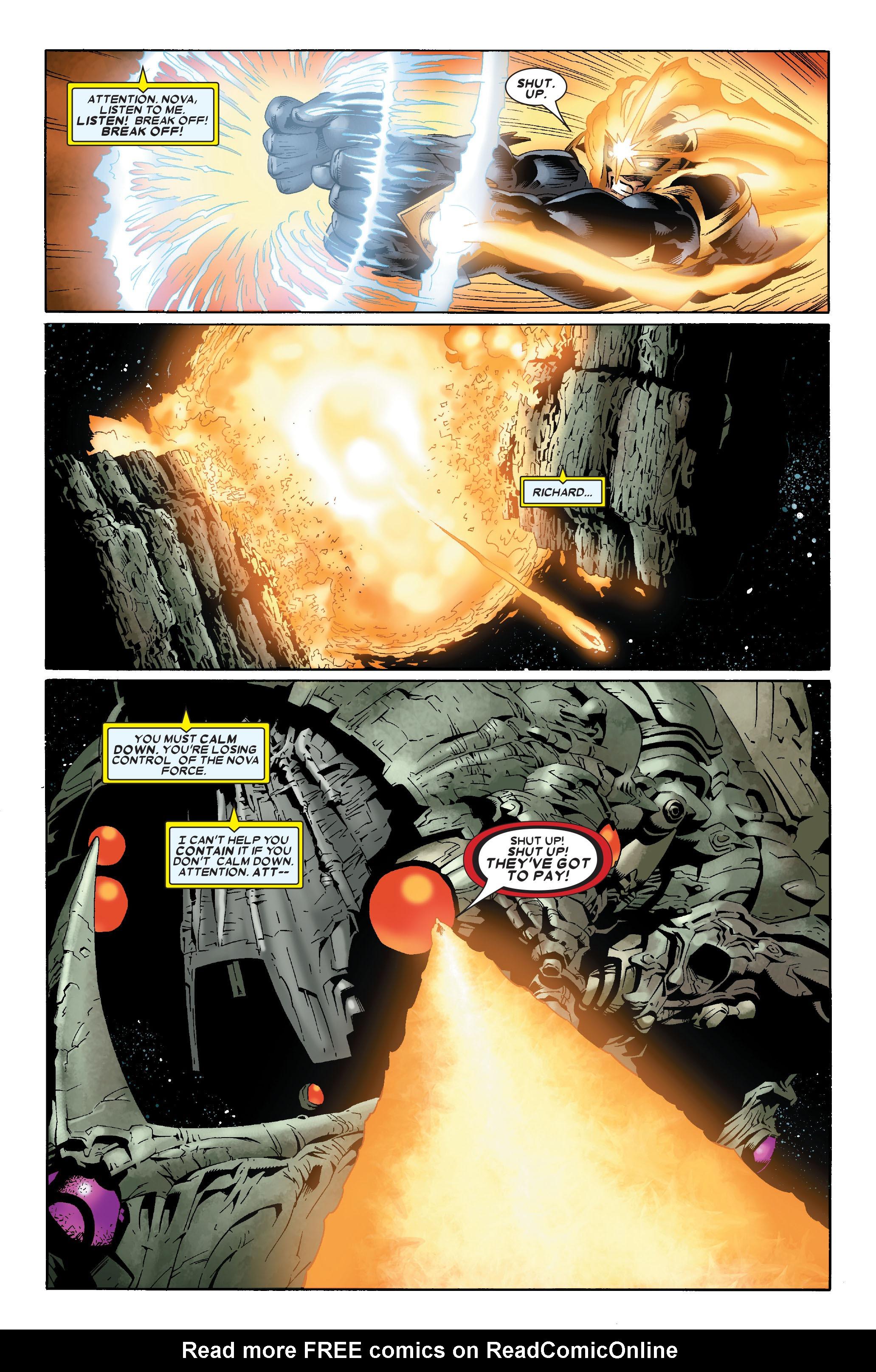 Read online Annihilation: Nova comic -  Issue #1 - 20