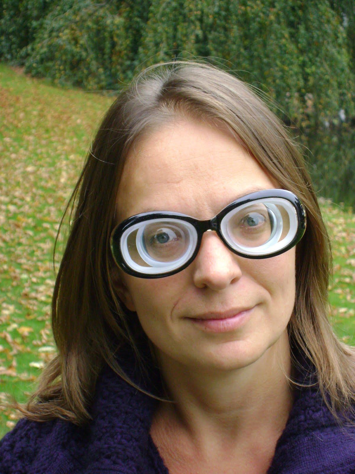 Women Wearing Eyeglasses Full Time