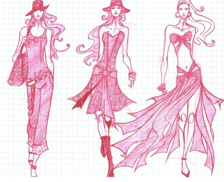 Fashion Sketches: Bocetos e Ilustraciones Fashion