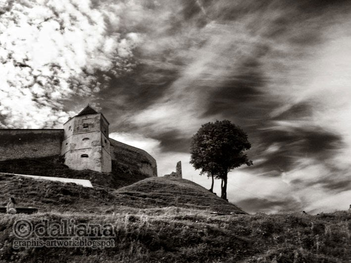 Photographis Rasnov Fortress I Castle And Fortress In