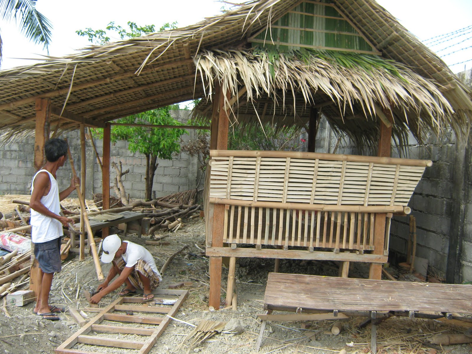 Small bahay kubo design for Small hut design