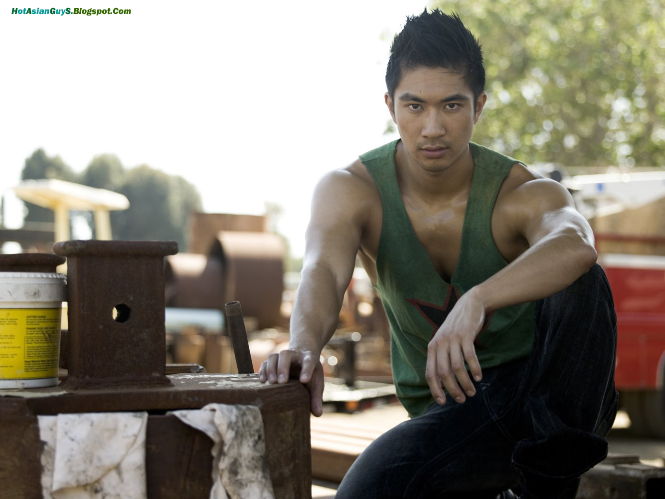 Ronnie Woo - A Real Hot Asian Guy  Hot Asian Guys - Male -1175