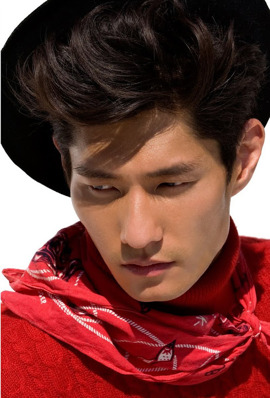 daniel liu top leading asian male model hot asian guys