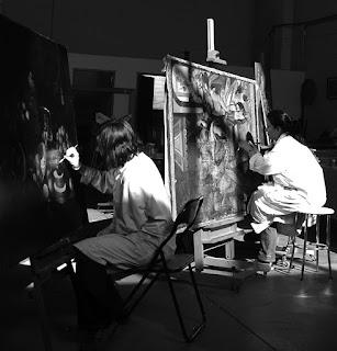 Comenzamos las clases de dibujo y pintura