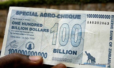 And finally - 100 billion dollars note!