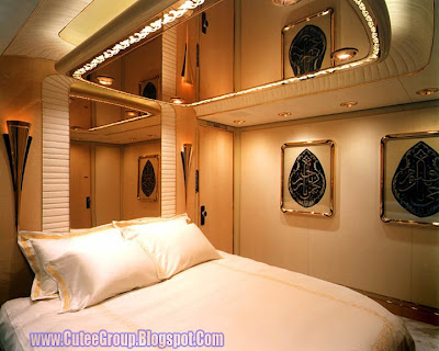Bed Room of Palace of Sultan Brunei