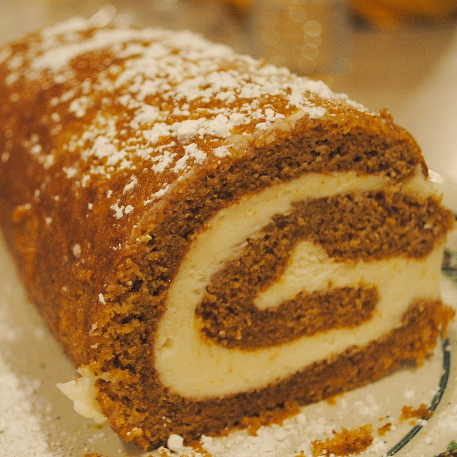 Pumpkin Roll Cake In A X Pan