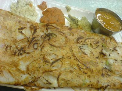 Ananda Bhavan Restaurant, rava dosai