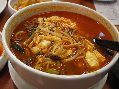 Arirang Korean Restaurant, beef jigae