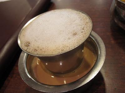Anjappar Authentic Chenttinaad Restaurant, tea