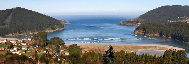 Foto panorámica playa vilarube
