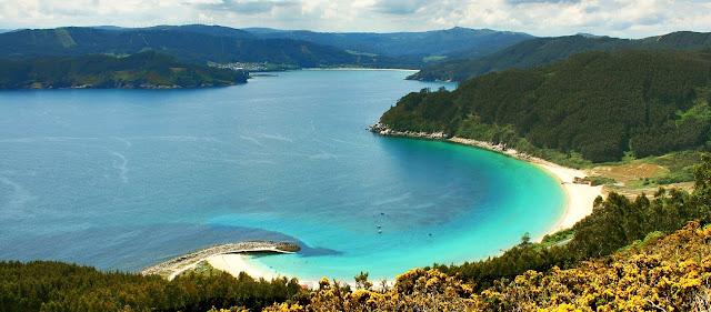 foto panoramica playa de Bares