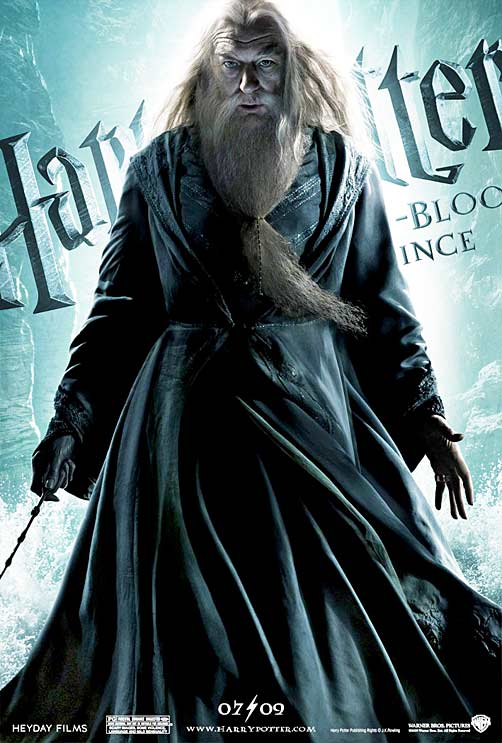 Harry Potter & The Half-Blood Prince [click to see the other character posters]