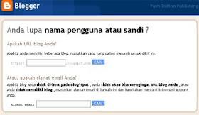 Www Putro Net Blog Pribadi Cara Mengetahui Jika Lupa Password Dan Username Blogger