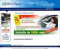 Seguro de subsidio por retirada del carné de conducir Fígares