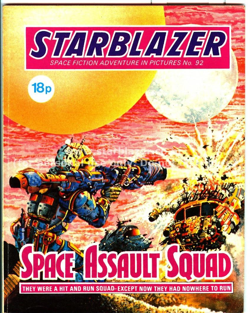 Starblazer issue 92 - Page 1