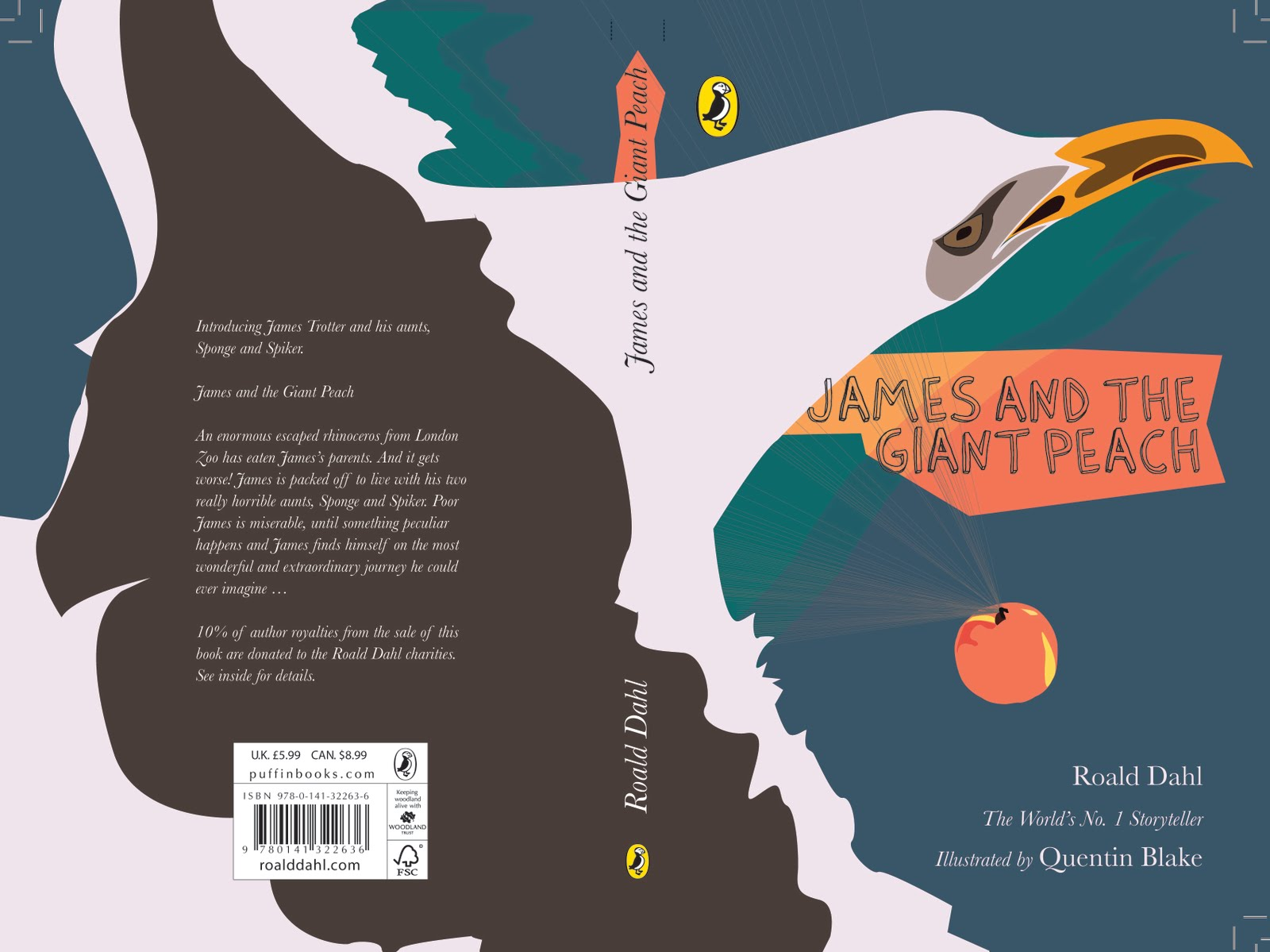 Rebecca Hadfield Illustration James And The Giant Peach Other Book Covers