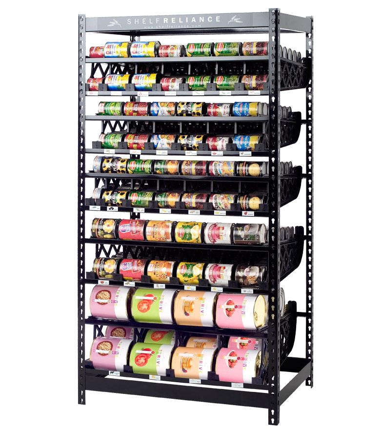 Food Storage Shelf: Be Prepared Channel: Great Deals On Shelving And Canned
