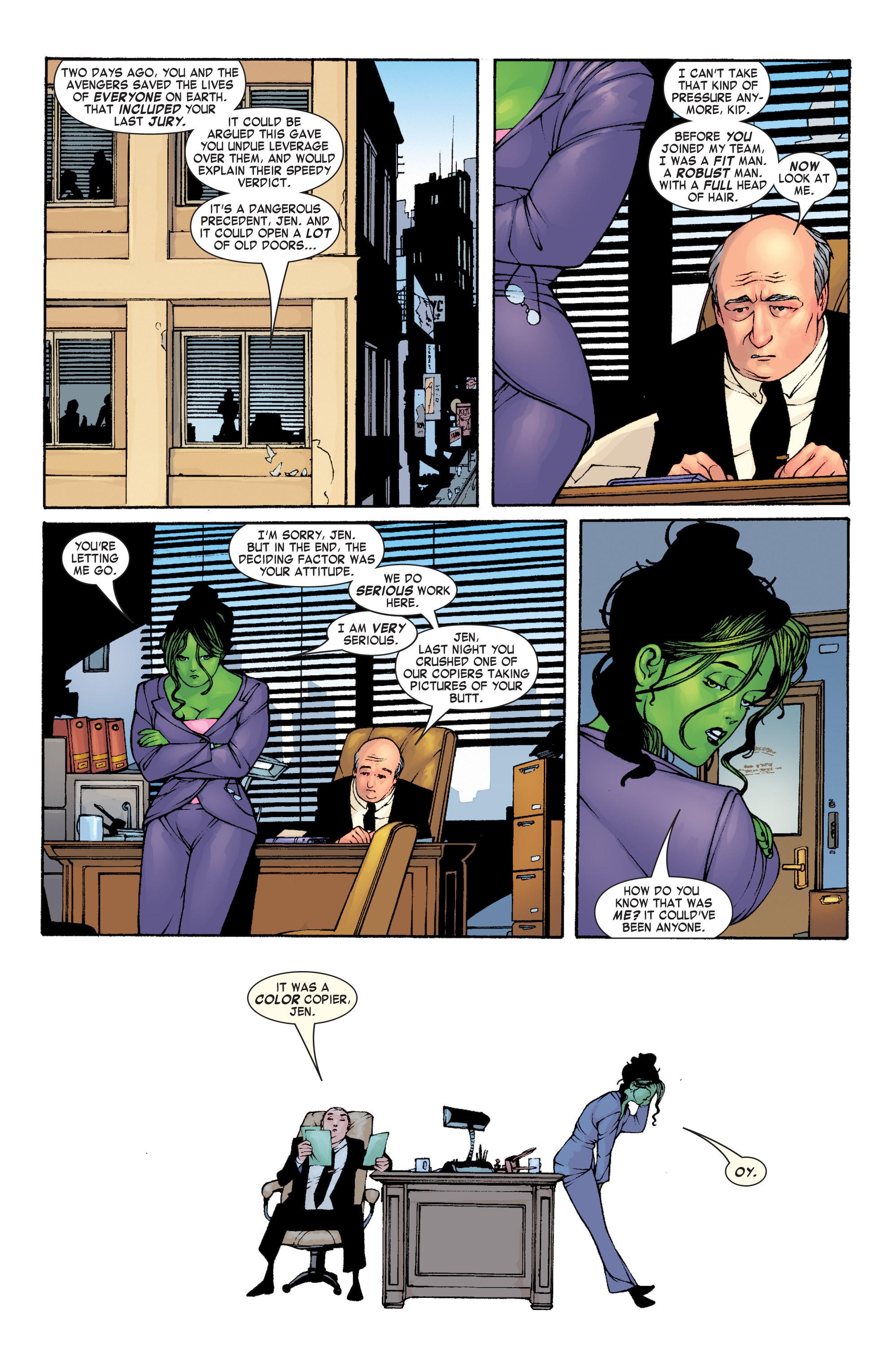 Read online She-Hulk (2004) comic -  Issue #1 - 18