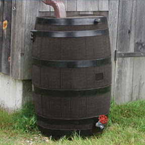 The Rain Barrel — Saves Your Water And Money