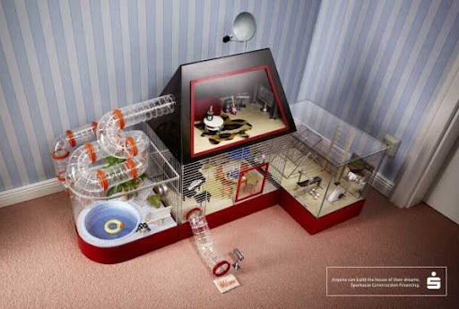 House of a hamster by WOW Barbie
