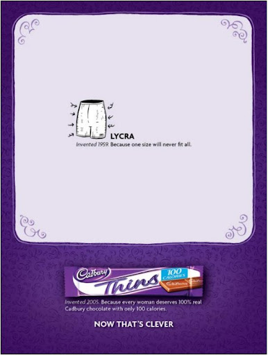 Female Chocolate «Cadbury Thins»