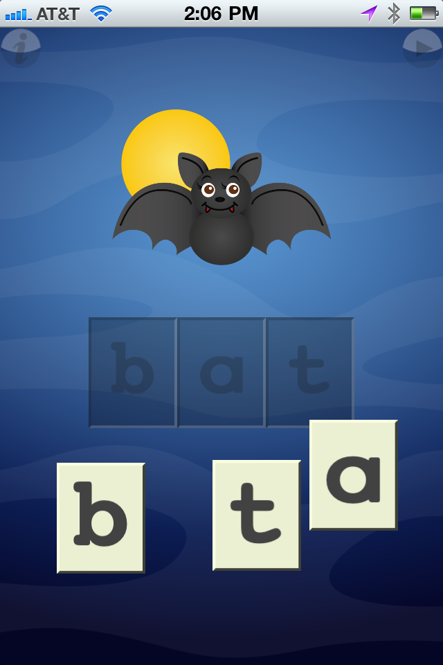 Apps4Moms: Learning Letters: Toddler's First Spelling App