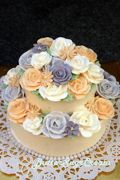 Cake Decorating Journal Lesson 12 2 Tier Buttercream