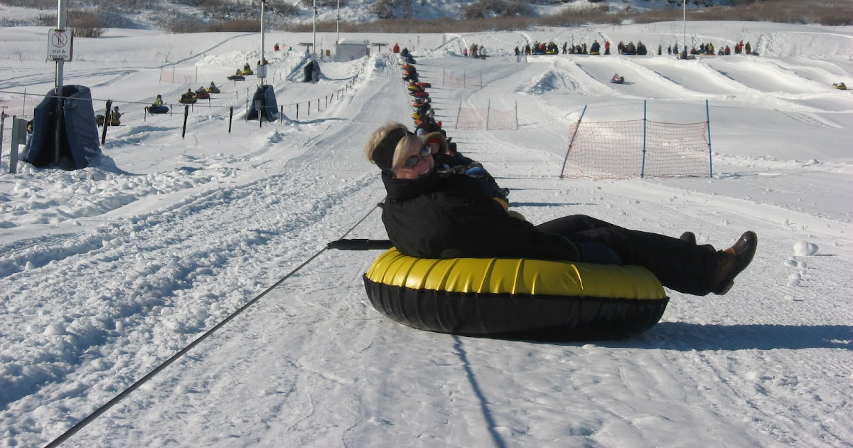 The Beardall Family: Tubing at Soldier Hollow