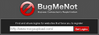 Using BugMeNot Bypass Compulsory Registration For Websites 3