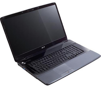 Acer Aspire 7735z laptop with amazing glossy finish