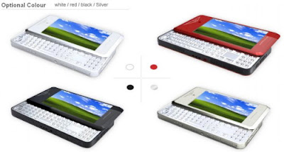 xpPhone optional colors_white_red_black_silver