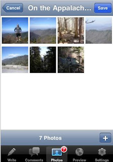 WordPress for Iphone 2 Sequential ordering of the photos
