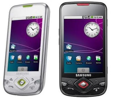 Samsung I5700 Galaxy spica colors white and black