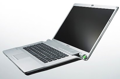 New Sony FW series  notebook-FW53 stylish back colored design with refined interiors