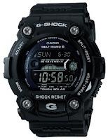Casio G-Shock GW7900B-1 G-Rescue Series Solar Watch_Black