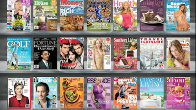 Time Inc's 21 US Digital Magazines