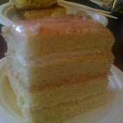 GUAVA STRAWBERRY CAKE