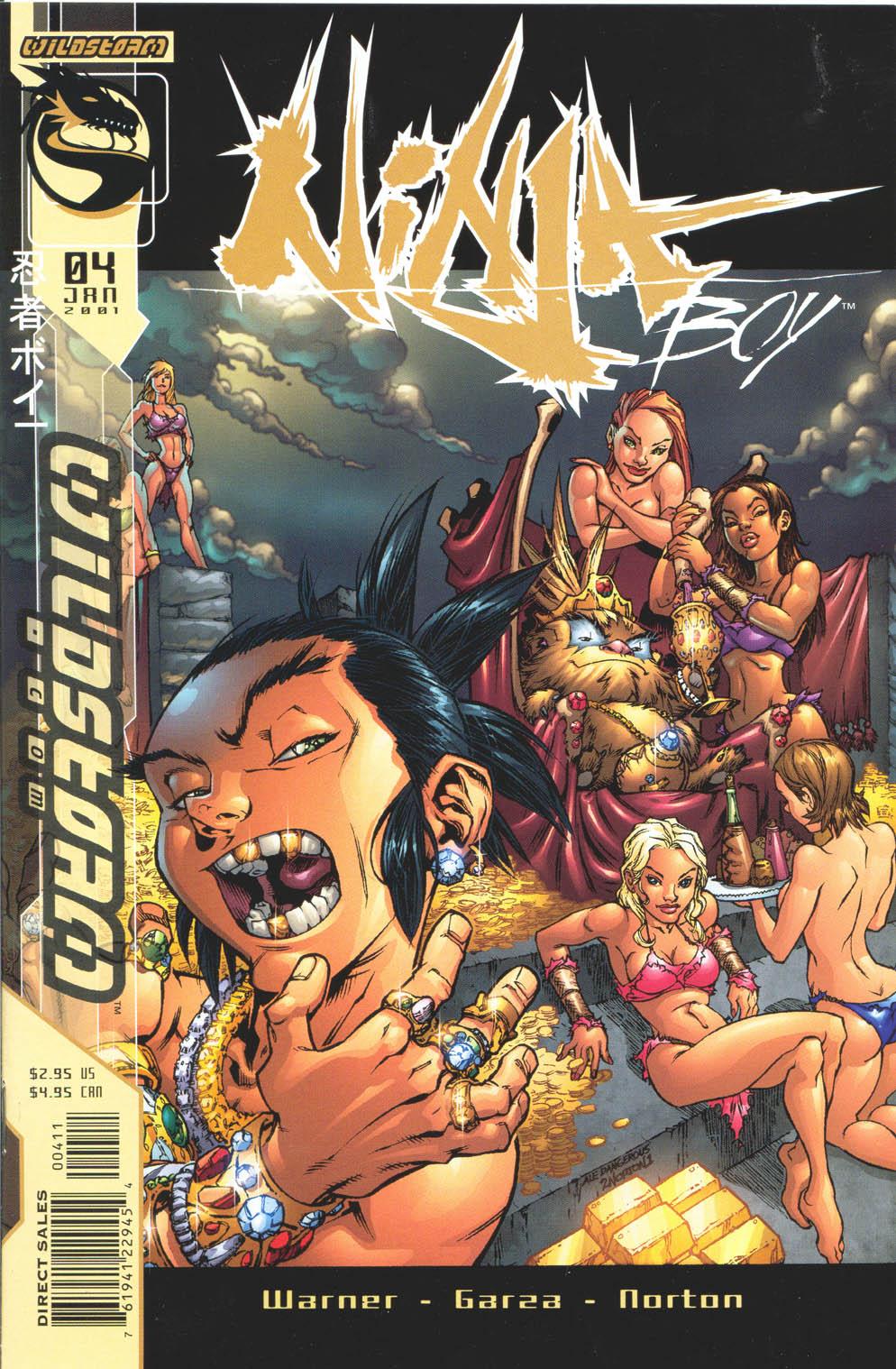 Read online Ninja Boy comic -  Issue #4 - 2