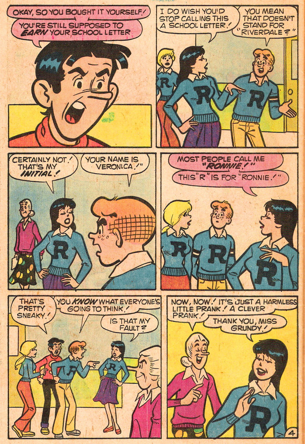 Read online Archie's Girls Betty and Veronica comic -  Issue #267 - 32