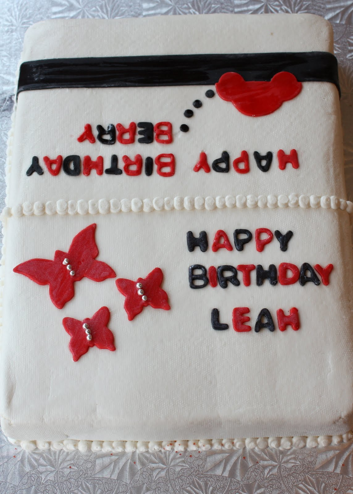 Cakes By Casey Happy Birthday Leah And Berry