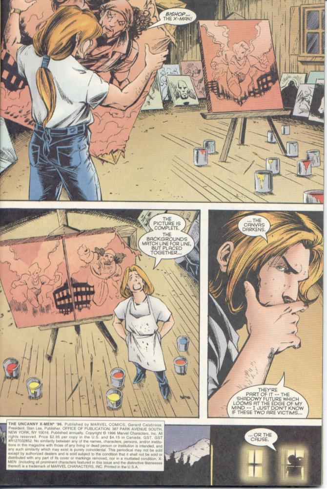 Read online Uncanny X-Men (1963) comic -  Issue # _Annual 1996 - 5