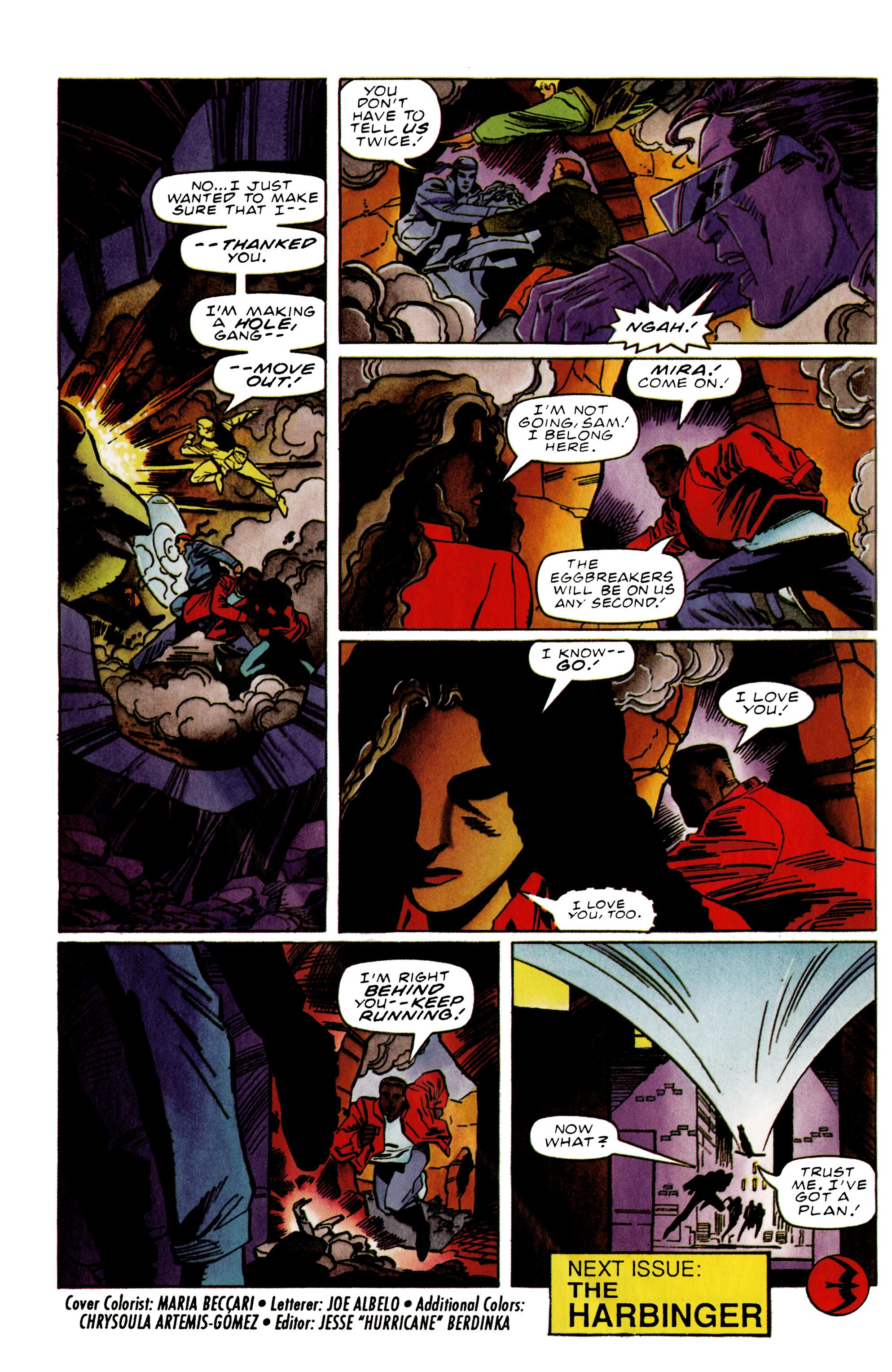 Read online Harbinger (1992) comic -  Issue #39 - 22