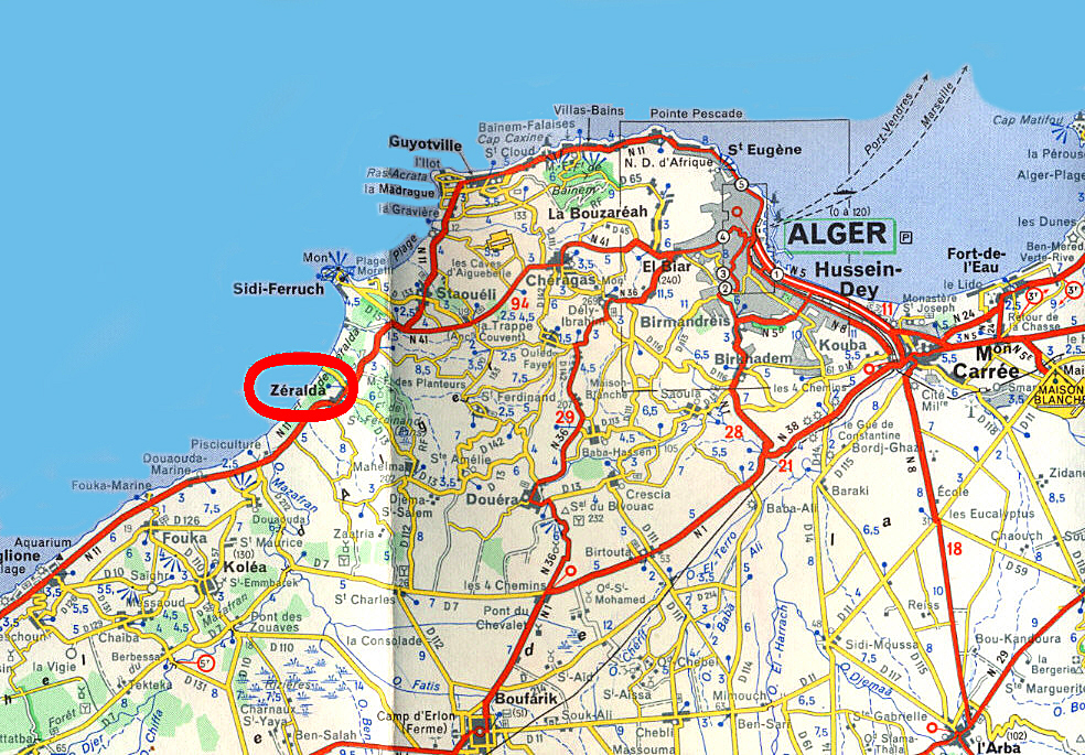 Carte Zeralda Algerie.Un Voyage Dans Le Hoggar Zeralda
